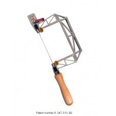 3' Titanium Birdcage Hand Saw with Cam Lever and Swivel Blade Clamp