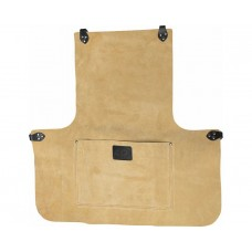 "24"" Suede Leather Apron With Pocket"