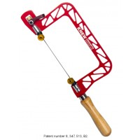 """3"""" Mk.IV Heavy Duty Hand Saw with Lever Tension and Swivel Blade Clamps"""