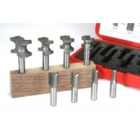 INCRA Router Bit Sets - HingeCrafter 8-Piece Set