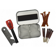 TBS Firelighting Kit with Leather Pouch
