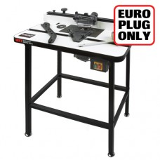 Workshop router table 230V Euro plug - Authorised distributors only